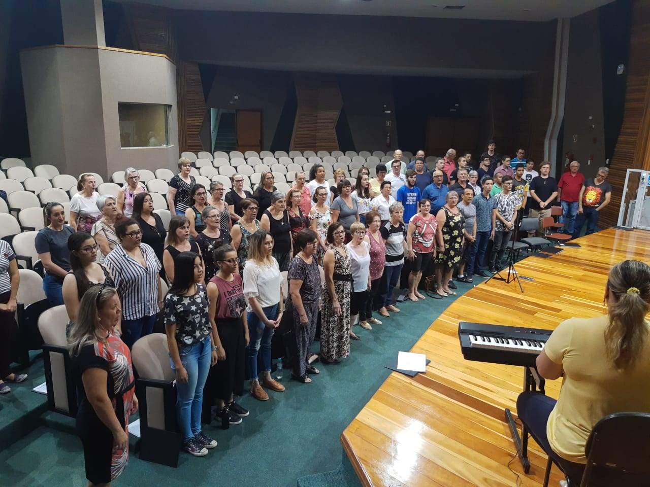 Coral Voz Ativa irá participar de um Importante concerto hoje em Medianeira