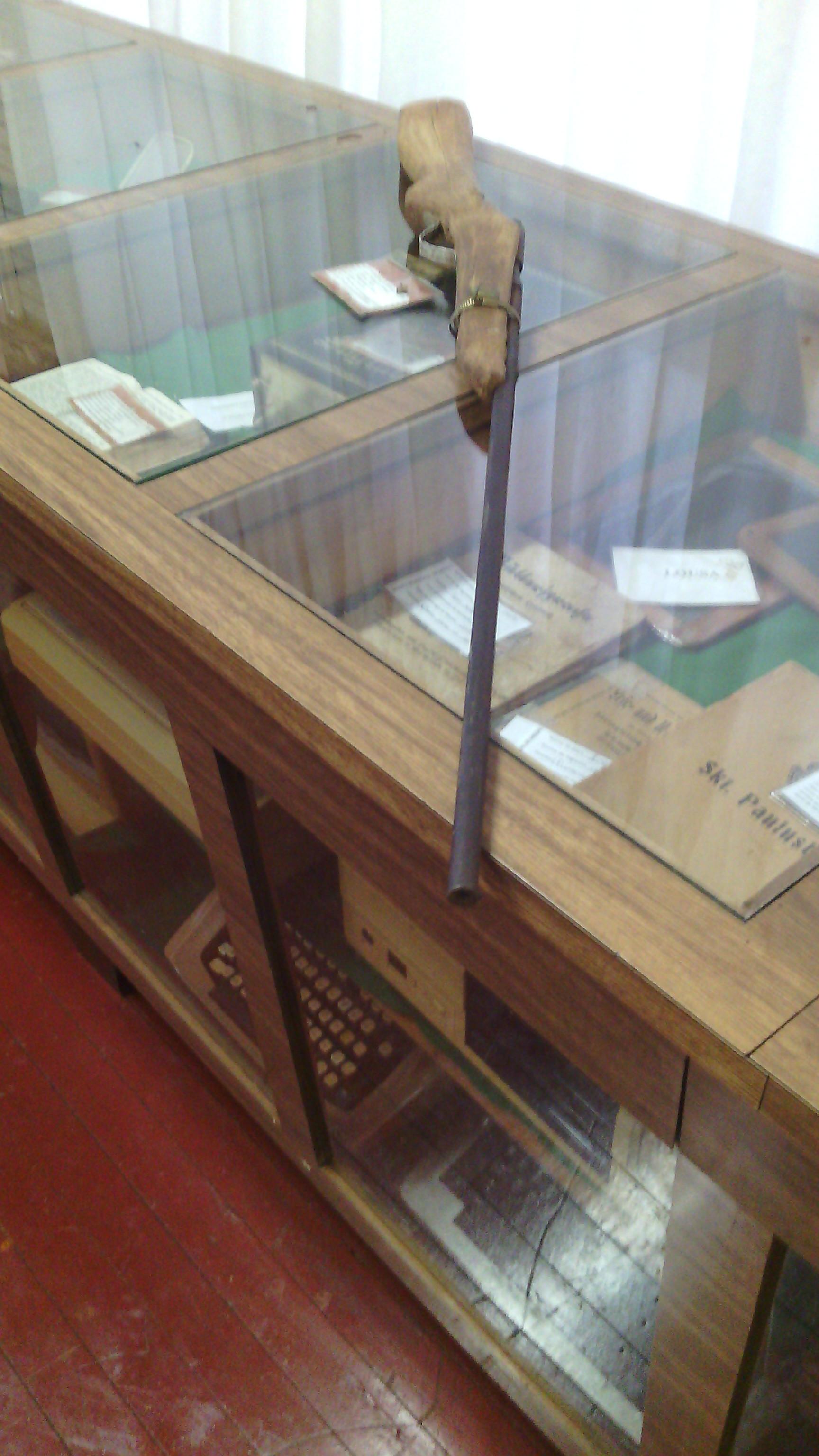 Museu Municipal foi invadido no último final de semana